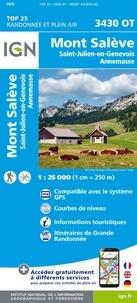 IGN - Mont Salève, Saint-Julien-en-Genevois, Annemasse - 1/25 000.