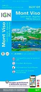 IGN - Mont Viso - Saint-Véran, Aiguilles, PNR du Queyras 1/25 000.