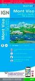 IGN - Mont-Viso - Saint-Véran, Aiguilles, PNR du Queyras 1/25 000.