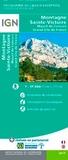 IGN - Montagne Sainte-Victoire - 1/17 500.