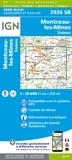 IGN - Montceau-les-Mines/Ecuisses - 1/25000.
