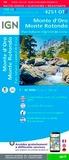 IGN - Monte d'Oro, Monte Rotondo, Parc naturel régional de Corse - 1/25 000.