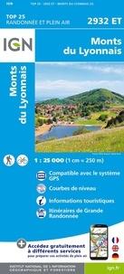 IGN - Monts du Lyonnais - 1/25 000.