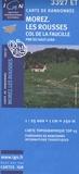 IGN - Morez, Les Rousses, Col de la Faucille, PNR du Haut-Jura ; 1/25000.