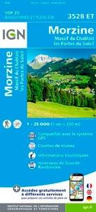 IGN - Morzine/Massif du Chablais/Les portes du soleil - 1/25 000.