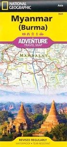 National Geographic - Myanmar (Burma) - 1/1 480 000.