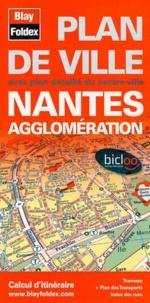 Blay-Foldex - Nantes agglomération - Plan de ville.