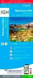 IGN - Néouvielle Vallée d'Aure Parc Naturel des Pyrénées - 1/25 000.