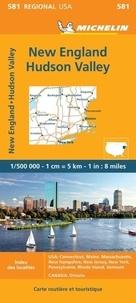 Michelin - New England Hudson Valley - 1/500 000.