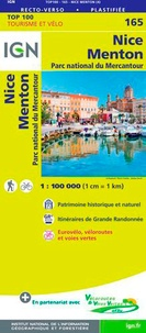 IGN - Nice, Menton, Parc national du Mercantour - 1/100 000.