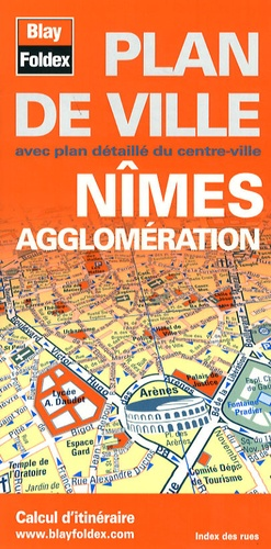Blay-Foldex - Nîmes agglomération - 1/12 500.