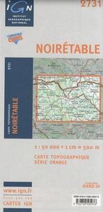 IGN - Noirétable - Carte topographique 1/50 000.