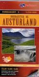 Ferdakort - Nordaustur Og Austurland - 1 : 250 000.