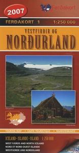 Ferdakort - Nordurland - Nord et Nord-Ouest Islande 1/250 000.