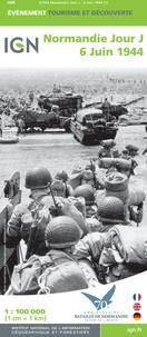 IGN - Normandie Jour J - 6 juin 1944 - 1/100 000.