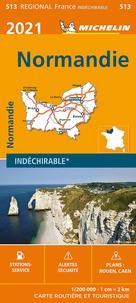 Michelin - Normandie - 1/200 000.