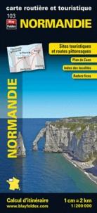 Blay-Foldex - Normandie - 1/200 000.