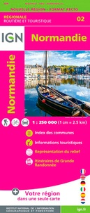 IGN - Normandie - 1/250 000.