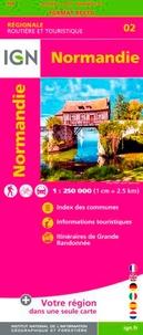 IGN - Normandie - 1/250 000.