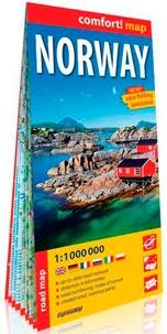 Express Map - Norway - 1/1 000 000.