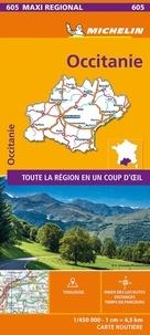 Michelin - Occitanie - 1/450 000.