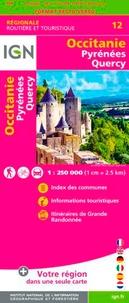 IGN - Occitanie. Pyrénées, Quercy - 1/250 000.