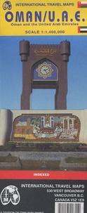 ITM - Oman United Arab Emirates - Echelle 1/1 400 000.
