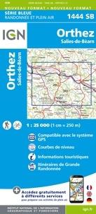 IGN - Orthez, Salies-de-Béarn - 1/25 000.