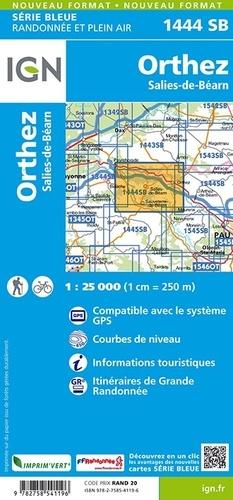 Orthez, Salies-de-Béarn. 1/25 000