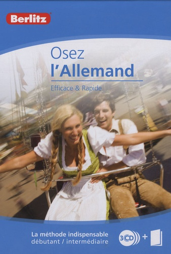 Berlitz - Osez l'allemand. 3 CD audio