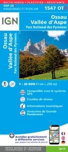 Ossau, Vallée dAspe, Parc National des Pyrénées - 1/25 000, recto-verso, plastifiée-résistante.pdf