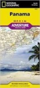 National Geographic - Panama - 1/475 000.