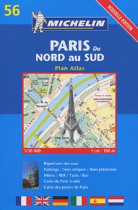 Michelin - Paris du Nord au Sud.
