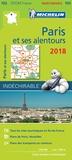 Michelin - Paris et ses alentours - 1/90 000.