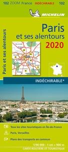 Michelin - Paris et ses alentours - 1/90 000, indéchirable.