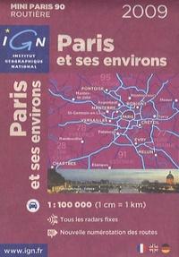 IGN - Paris et ses environs ; 1/100000.