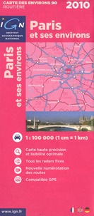 IGN - Paris et ses environs - 1/100 000.