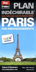 Blay-Foldex - Paris par arrondissements - Plan indéchirable.