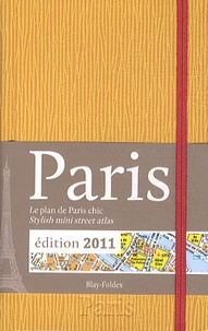 Blay-Foldex - Paris - La plan de Paris chic jaune.