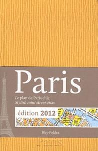 Blay-Foldex - Paris - Le plan de Paris chic jaune.