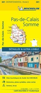 Michelin - Pas-de-Calais, Somme - 1/150 000.