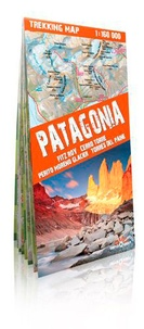 TerraQuest - Patagonia, Fitz Roy, Cerro Torre, Perito Moreno Glacier, Torres del Paine - 1/160 000.