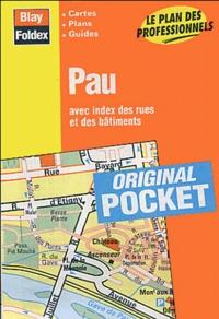 Blay-Foldex - Pau - Avec index des rues et des bâtiments.