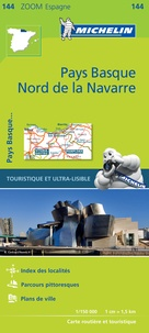 Michelin - Pays Basque - Nord de la Navarre - 1/150 000.