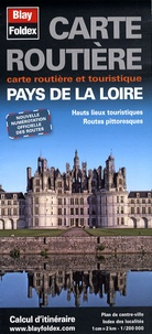 Blay-Foldex - Pays de la Loire - 1/200 000.