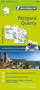 Michelin - Périgord, Quercy - 1/150 000.