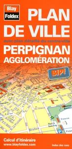Blay-Foldex - Perpignan agglomération - Plan de ville.