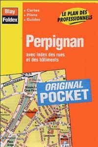 Blay-Foldex - Perpignan - Avec index des rues et des bâtiments.
