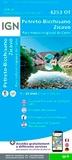 IGN - Petreto-Bicchisano Zicavo, Parc national de Corse - 1/25 000.