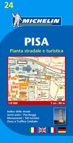 Michelin - Pisa - 1/8 000.